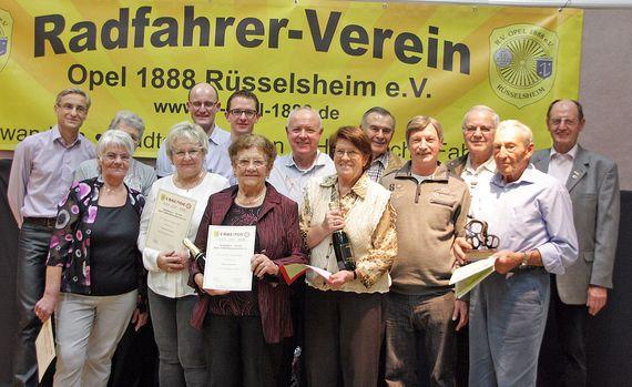 Ehrung der Vereinsmeister und langjähriger Mitglieder 2015